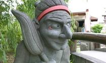 晴明神社 式神石像
