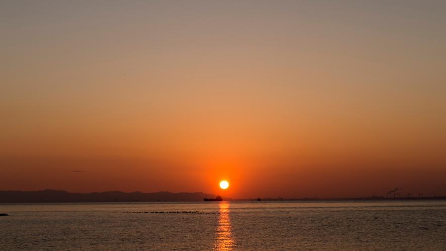 感動☆朝日も夕日も見える「西浦半島最先端」
