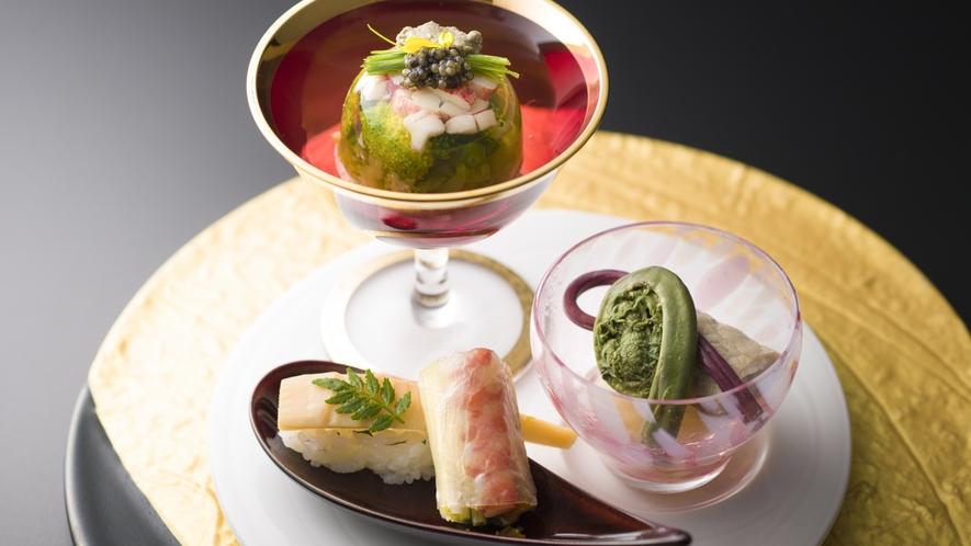 三河湾の新鮮な海の幸はもちろん、旬の地場野菜をなんと50種以上