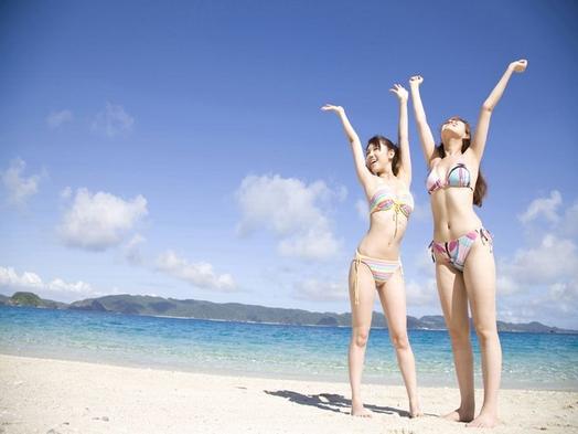 【海水浴】遂に到来だ!夏真っ盛り♪海まで5秒♪水着のままでレッツゴー!