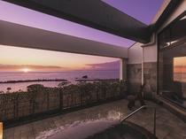 大浴場からの景色は絶景です