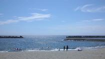 当館から徒歩1分!小土肥海水浴場