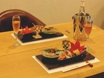 【2019年10月新設】特別客室お料理の一例