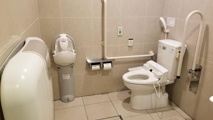 【多目的トイレ】