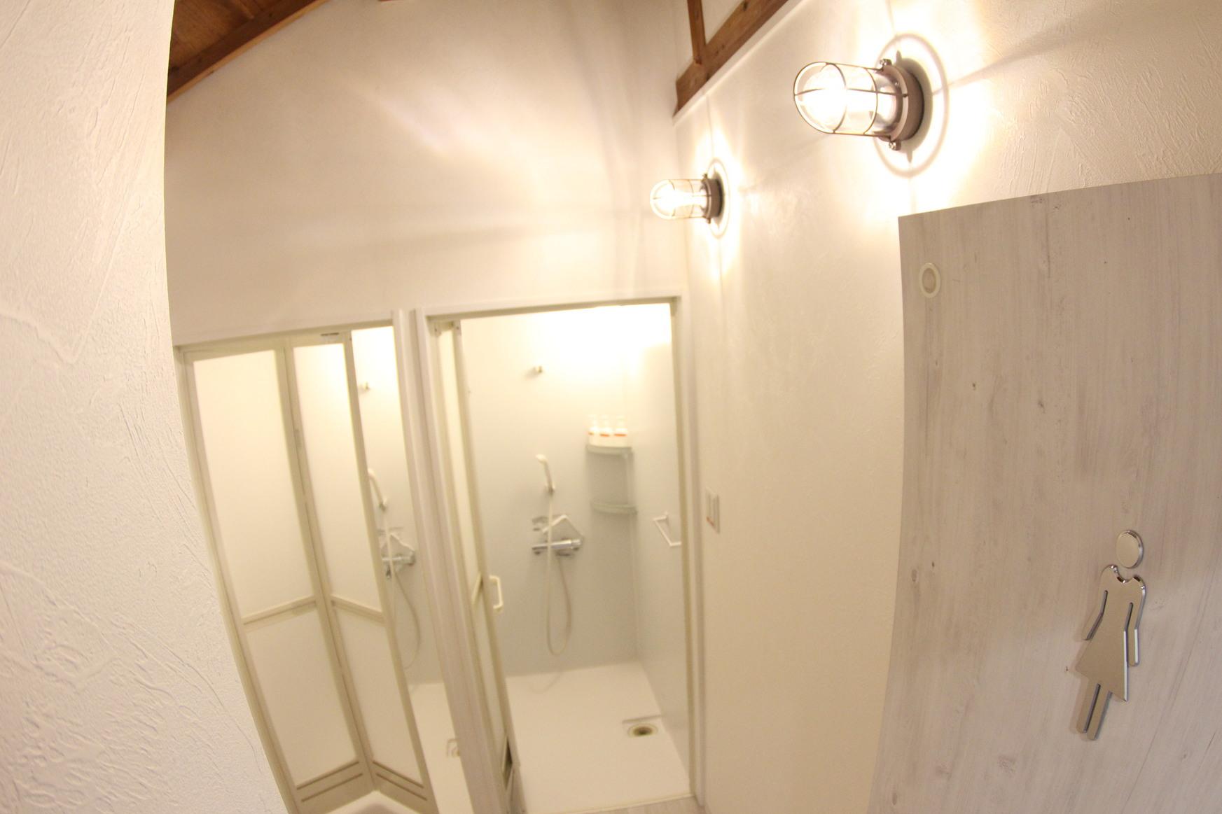 2021年1月にリフォームしたおススメの2階共用シャワールーム