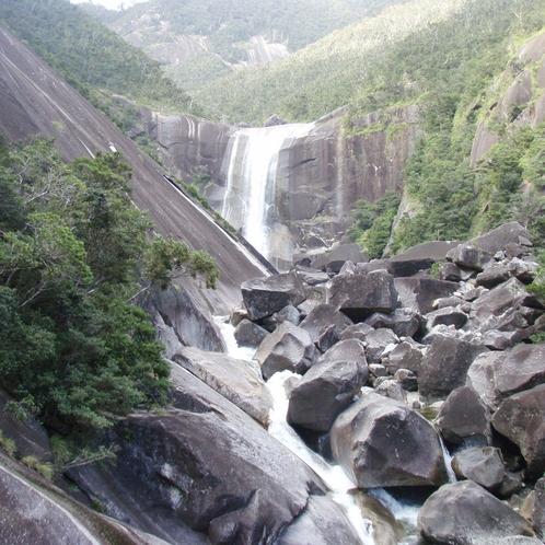 【大自然】滝の落差は約60メートル《千尋の滝》