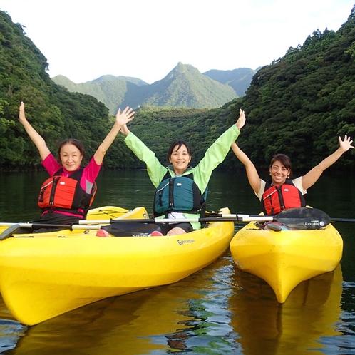 【アクティビティ】《安房川》でカヌ-を楽しみませんか!