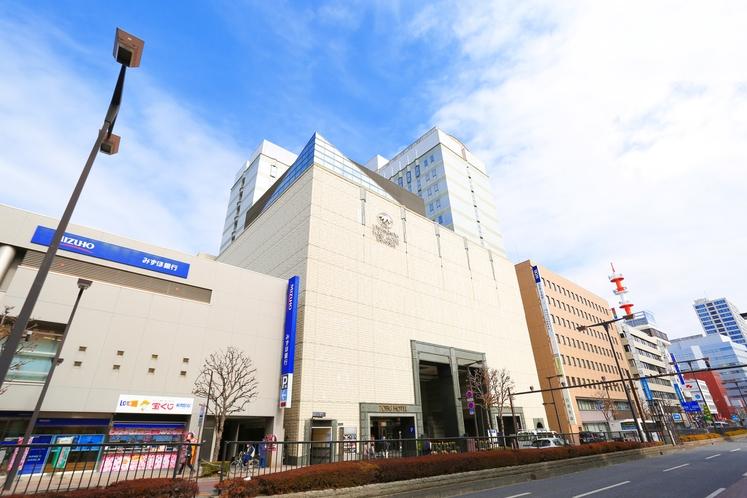 外観‐日中-宇都宮東武ホテルグランデ