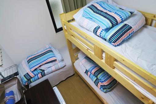 【全館禁煙】上野から3駅★洋室3ベッドルーム(3名利用)