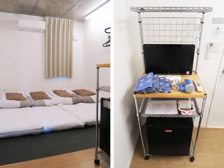 【全館禁煙】上野から3駅★和室4人部屋(4名利用)