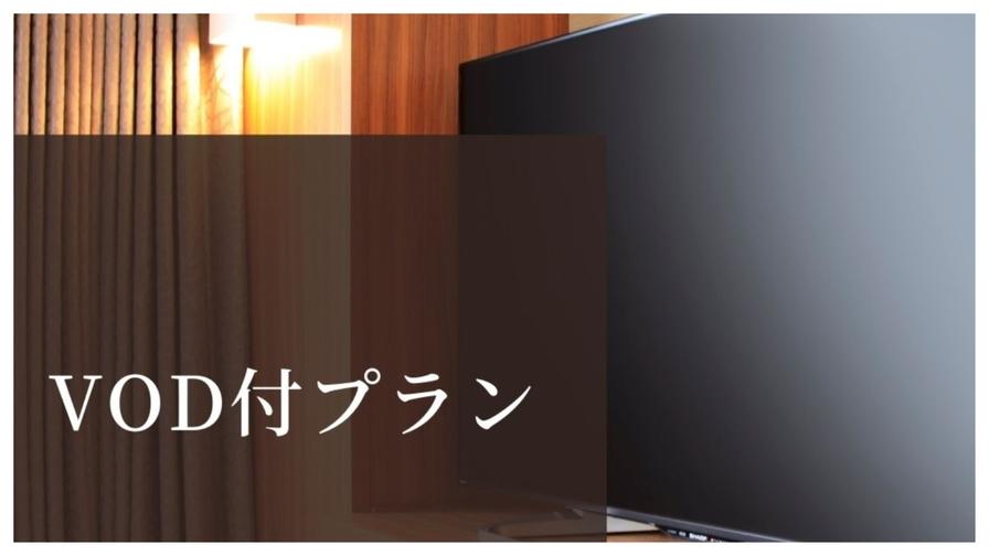 【VOD映画見放題付きプラン】-素泊り-◇全館禁煙◇