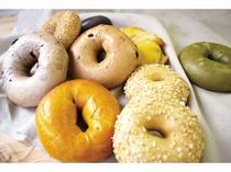 【ベーグル&ベーグル】健康系ベーグル『ヘルシー4』他数種のベーグル、サンドイッチやマフィンをご用意