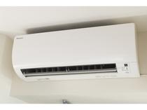 【個別空調】全室完備 冷暖房切替可