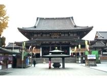 【川崎大師】京急川崎駅→川崎大師駅(5分) 川崎大師駅より徒歩8分。