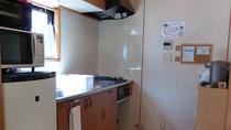 *【8名様用コテージ】キッチン(一例