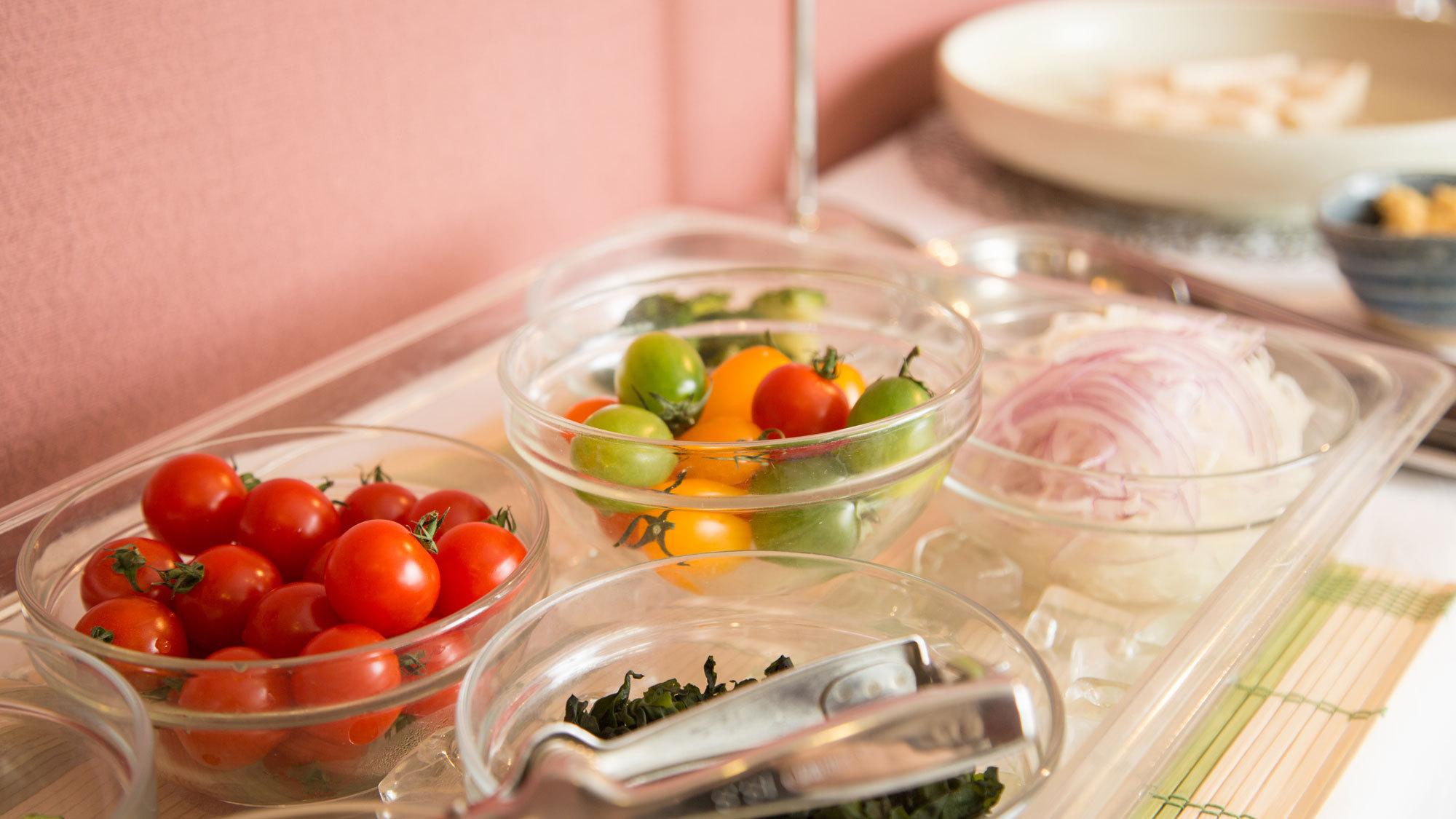 ≪朝食≫サラダコーナー