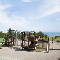 【恵山岬灯台公園】大型アスレチック遊具