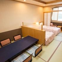 【和洋室・12畳】和室ですが、ベッドでお休みになりたい方におすすめです!