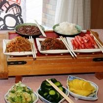 朝食バイキング★和食コーナー