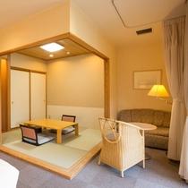 ■露天風呂付・和洋室■和室スペース