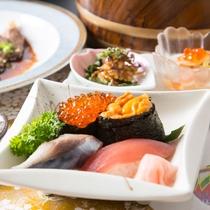【恵コース】アップグレードプラン・握り寿司