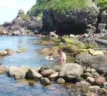 水無海浜温泉-海水浴