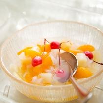 【朝食】デザート