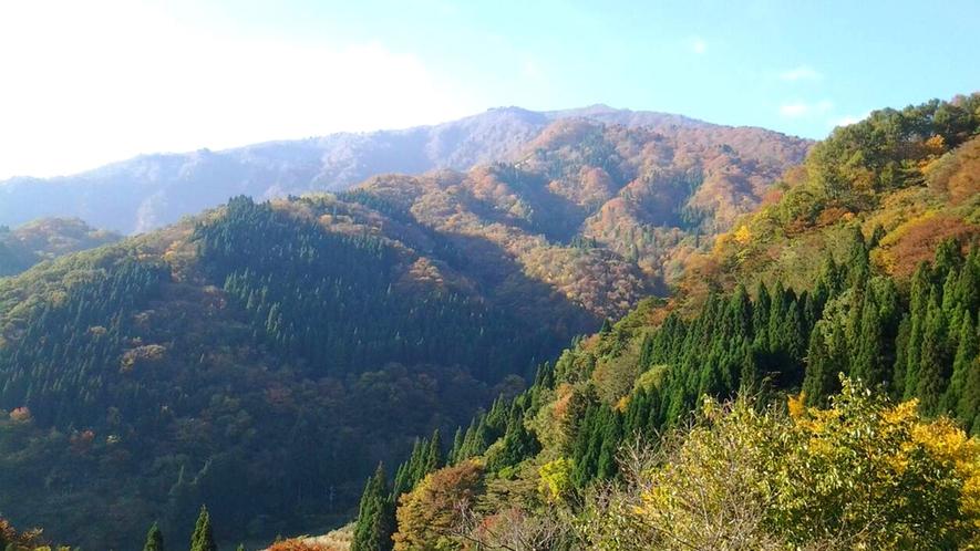 神鍋の山々