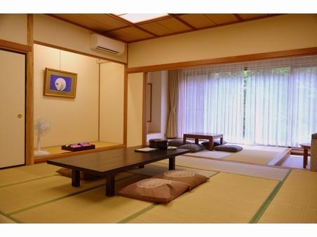 【禁煙】二間続き特別和室12.5畳+6畳(バス・トイレ付)