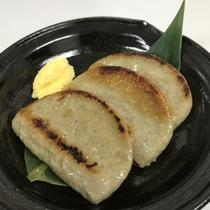 【夕食レストラン花々亭】黒はんぺん ※写真とは異なる場合がございます。