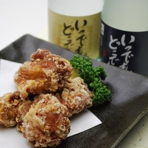 【夕食レストラン】鶏の唐揚 ※写真とは異なる場合がございます。