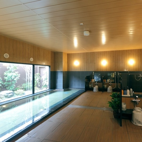 【1F 男性用大浴場】 ラジウム人工温泉大浴場 ~旅人の湯~