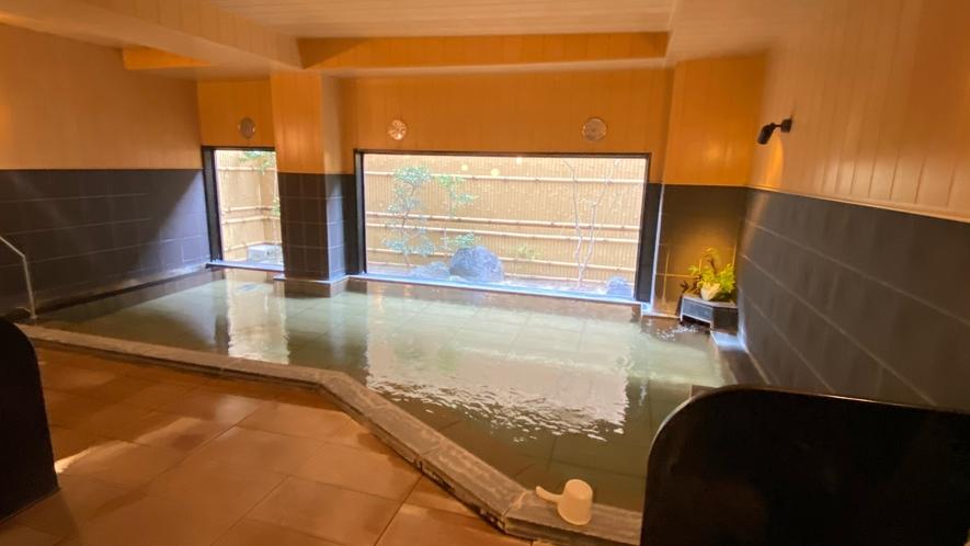 名取岩沼温泉「旅人の湯」(加温・循環ろ過式)・男性大浴場