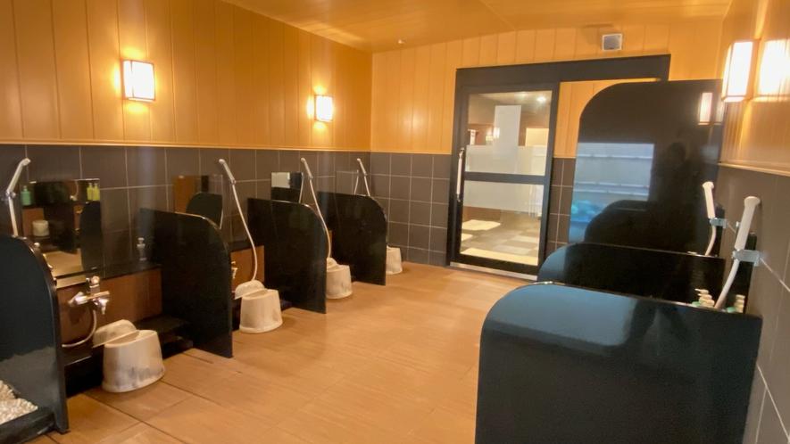 名取岩沼温泉「旅人の湯」(加温・循環ろ過式)・女性大浴場