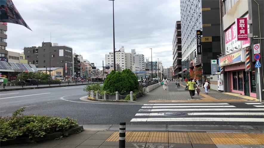 最寄り駅からの道順(JR巣鴨駅)