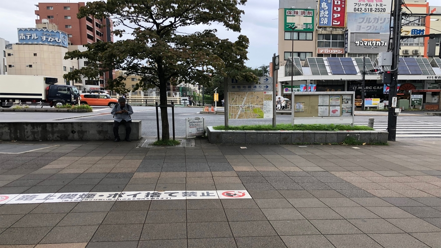 最寄り駅からの道順(JR巣鴨駅)【➀】