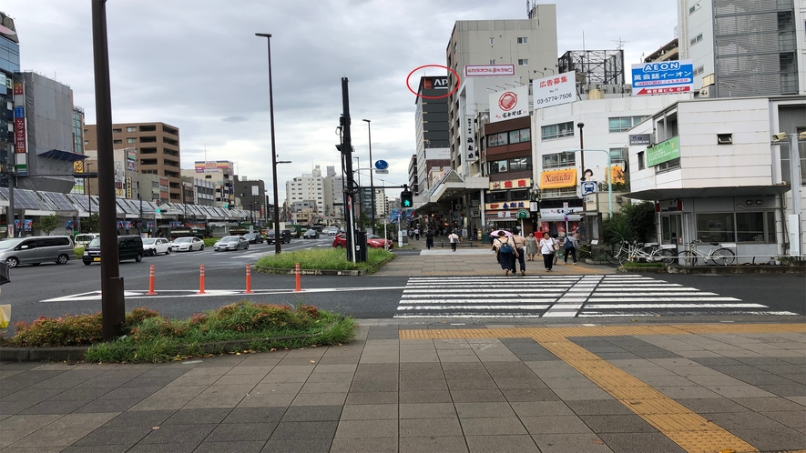 最寄り駅からの道順(JR巣鴨駅)【➁】