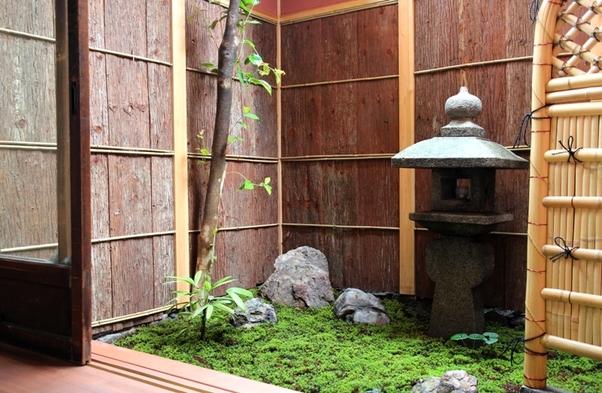 【素泊まり】専用庭を眺めながらごゆるりと*縁側付のお部屋で町家暮らし