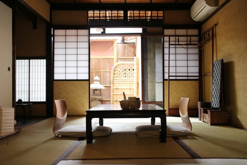 【弦月】京町家坪庭付和室