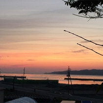 *周辺景色/1秒ごとに変わる夕焼け空。ゆっくりと眺めるのも旅の楽しみのひとつ♪