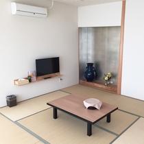 *客室一例/2014年にリニューアルしたお部屋は新しく快適♪全室禁煙!