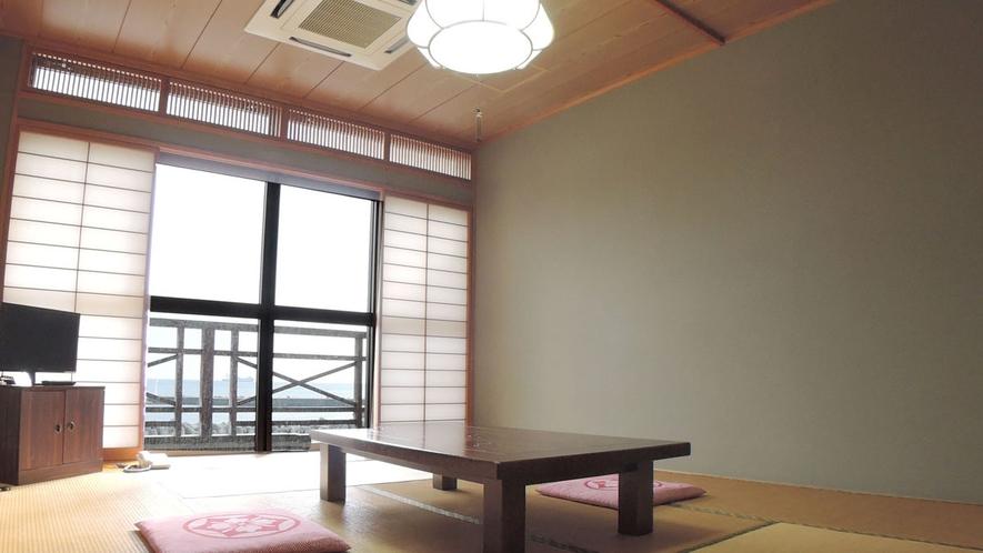 *おまかせ和室(9.5畳~12畳)/お部屋の向きにより海を一望できます!