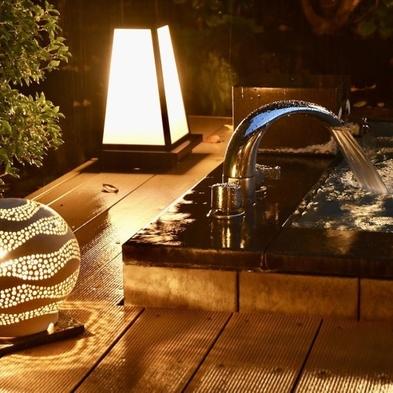 【朝食付】庭園露天風呂付客室 ■ 朝食はお部屋食