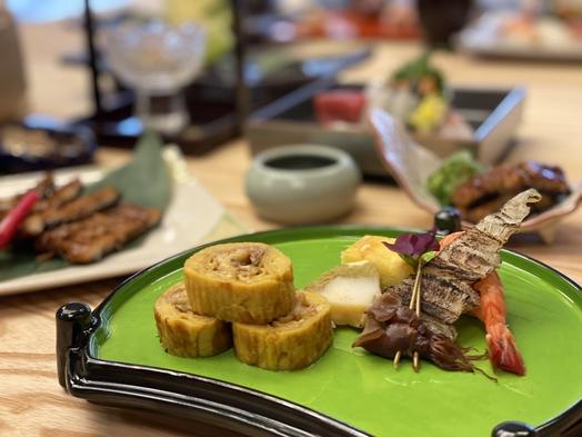 """【夏限定】夏野菜と自慢の""""鰻""""料理で日本の夏を堪能!〜地酒などのドリンクつき〜"""