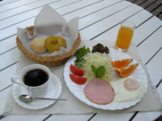 【朝食付】ほかほか手焼きパンと洋風の朝食で 朝から元気♪ゆったり・まったりプラン