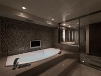 プレジデントスイート浴室