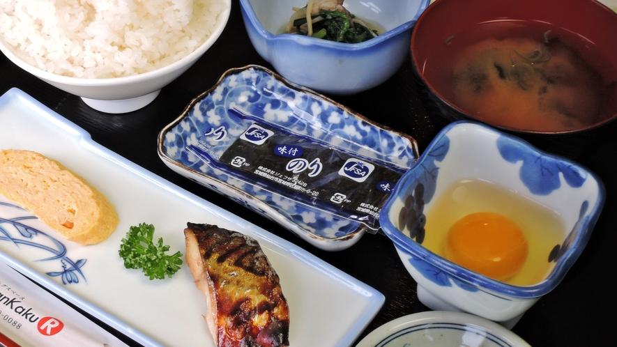 *【朝食一例】温かい手作りの和定食です