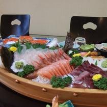 お食事一例~舟盛り