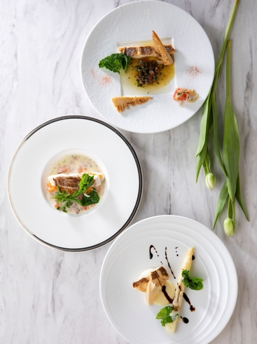 フランス料理「パルテール」めでたいこだわりランチ