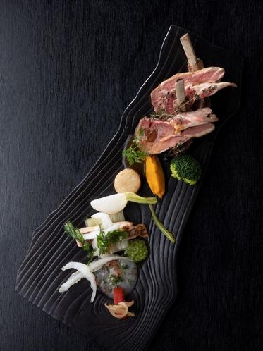 フランス料理「パルテール」贅沢ランチ